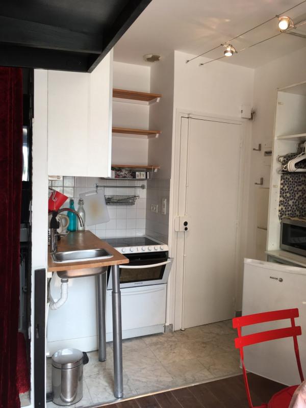Rental apartment Paris 17ème 655€ CC - Picture 3