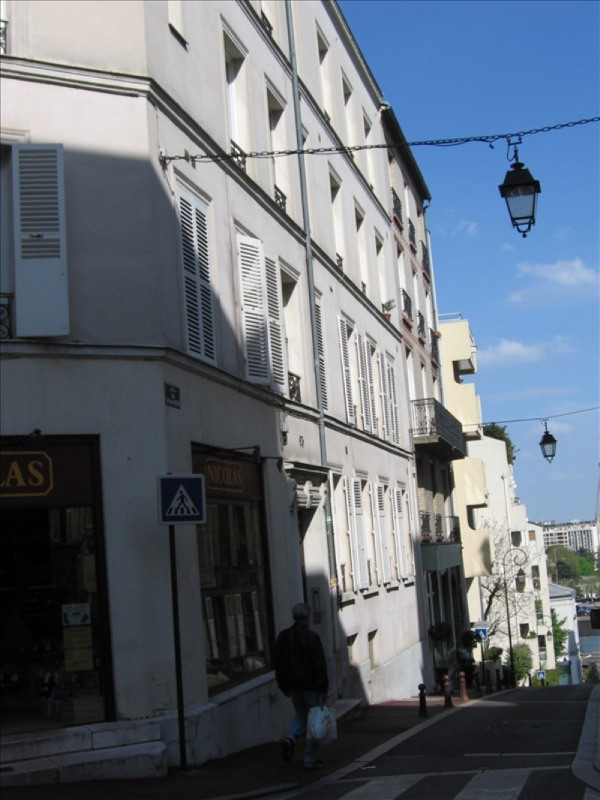 Rental apartment St cloud 840€ CC - Picture 1