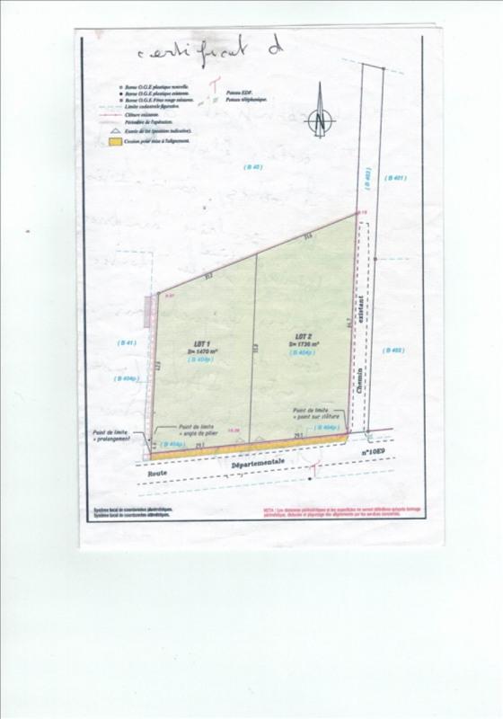 Vente terrain berthez 1470 m 44 500 euros bazas for Achat maison bazas