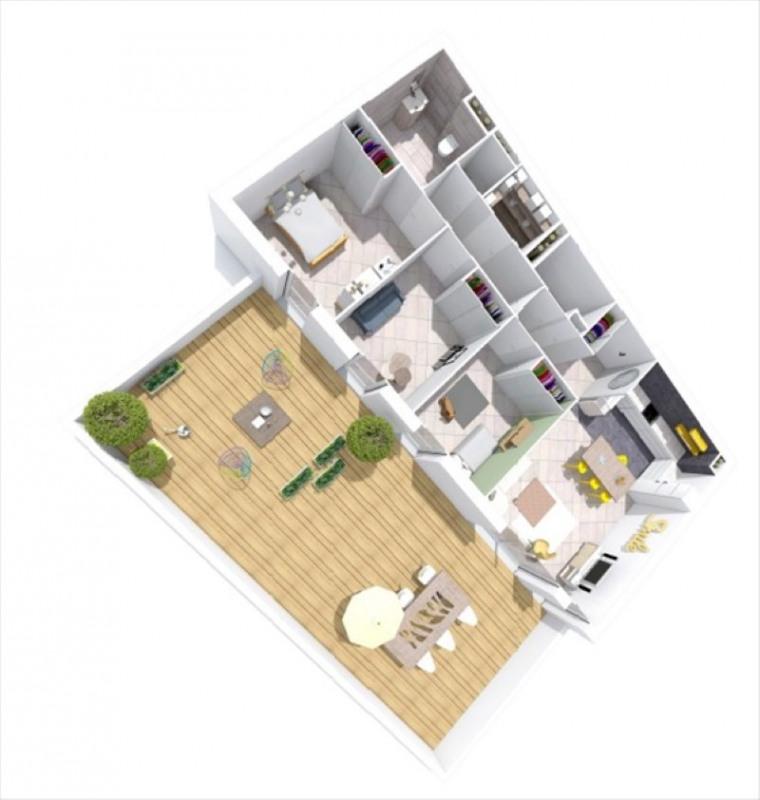 Sale apartment Montelimar 270683€ - Picture 2