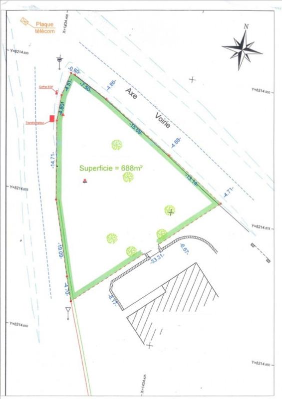 Vente terrain Villers bocage 59000€ - Photo 1