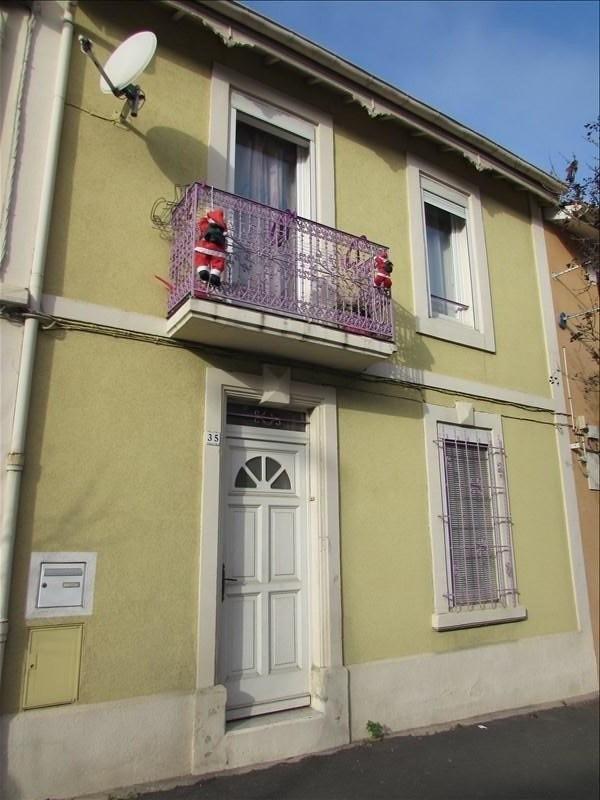Vente maison / villa Beziers 123 000€ - Photo 1
