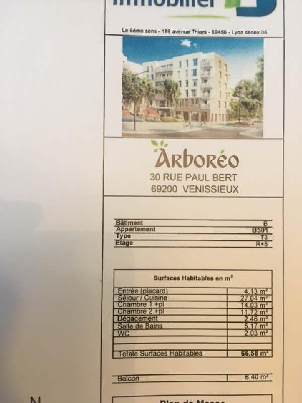 Rental apartment Venissieux 758€ CC - Picture 2