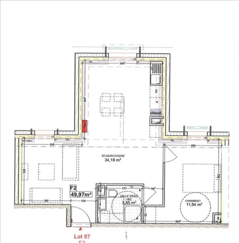 Vente appartement Sartrouville 249000€ - Photo 1