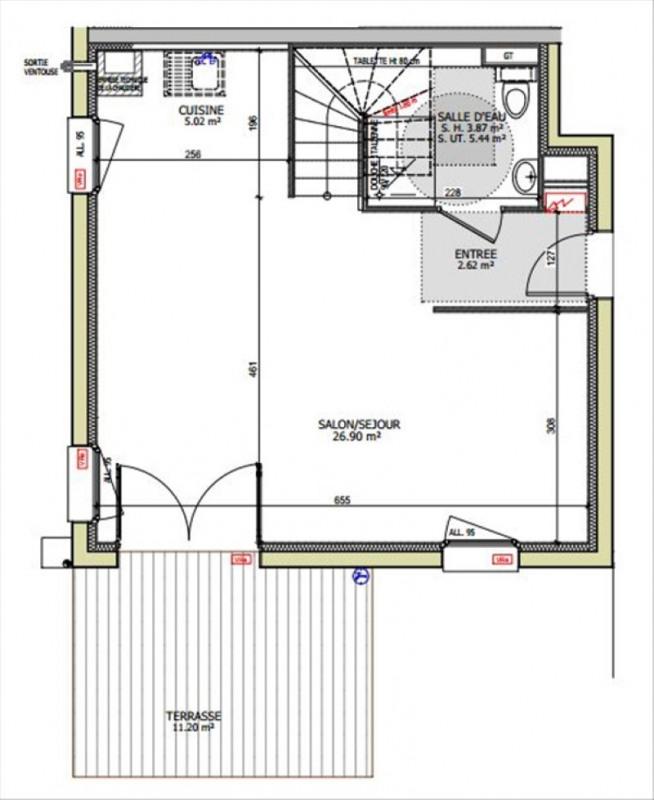 Sale house / villa Cranves sales 329500€ - Picture 2