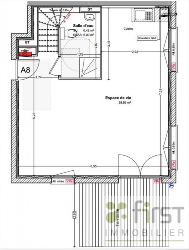 Sale house / villa Veigy foncenex 384500€ - Picture 6