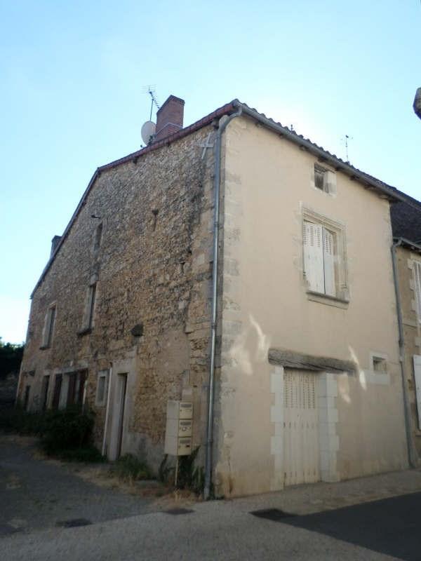 Produit d'investissement immeuble Lussac les chateaux 111000€ - Photo 1
