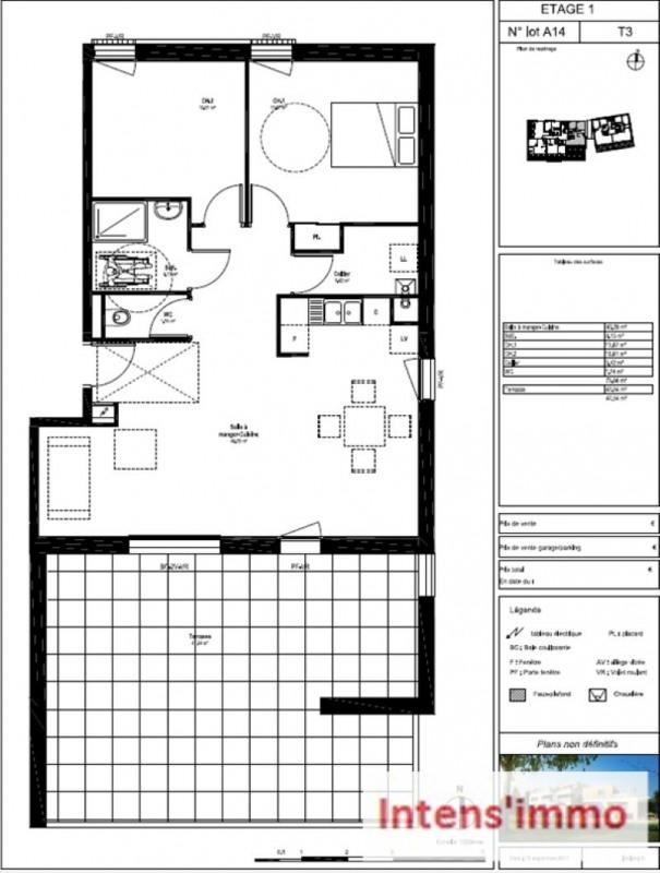 Sale apartment Bourg de peage 212000€ - Picture 2
