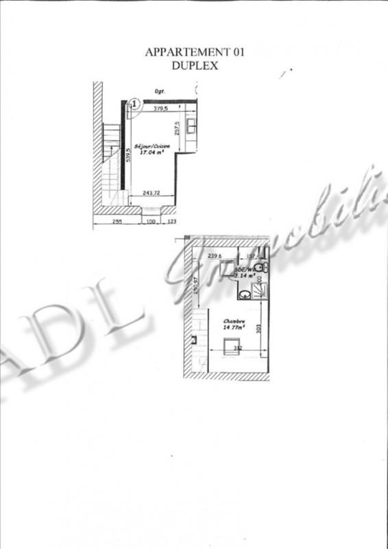 Sale apartment Coye la foret 148000€ - Picture 3