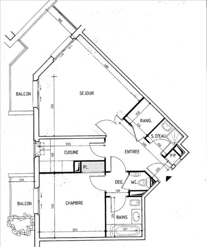 Verkoop  appartement Levallois perret 218000€ - Foto 7