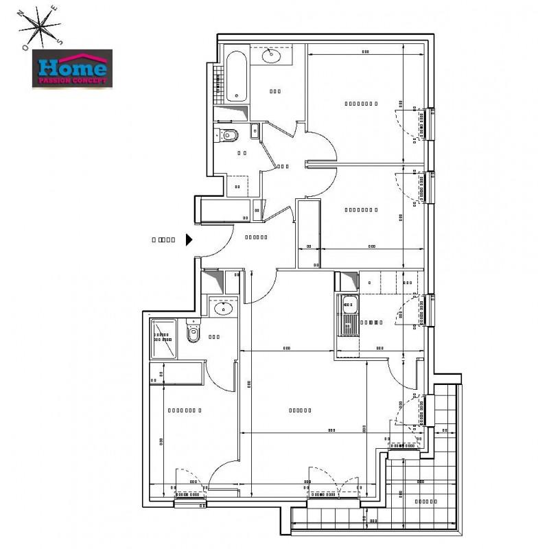 Vente appartement Rueil malmaison 564000€ - Photo 2