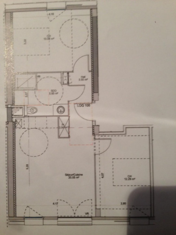 Vente appartement Villeurbanne 265300€ - Photo 3