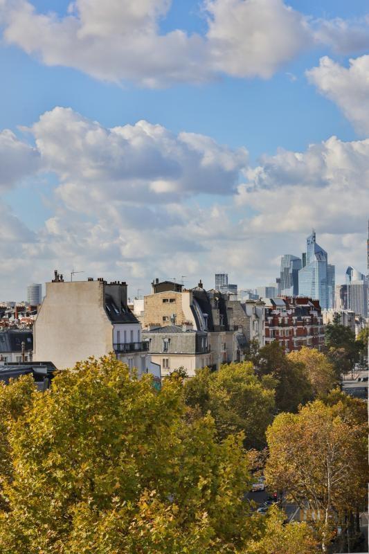 Vente de prestige appartement Paris 17ème 1070000€ - Photo 9