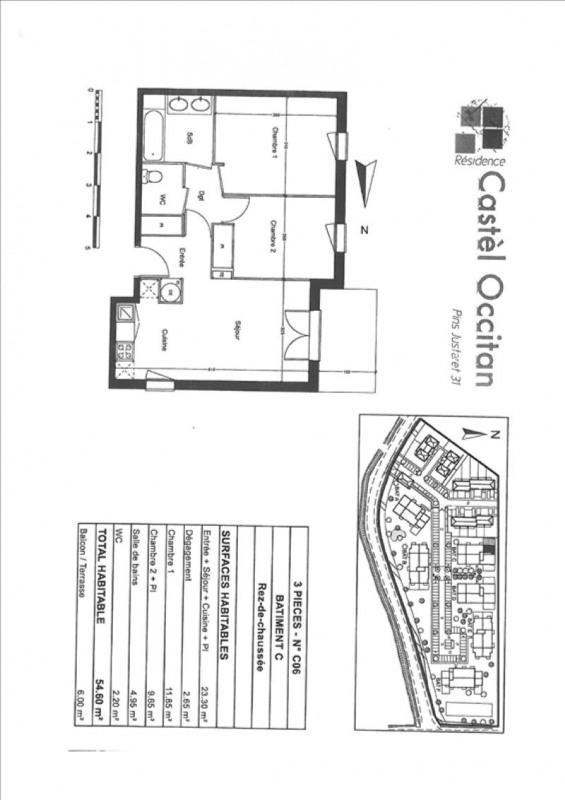 Alquiler  apartamento Pins-justaret 624€ CC - Fotografía 6