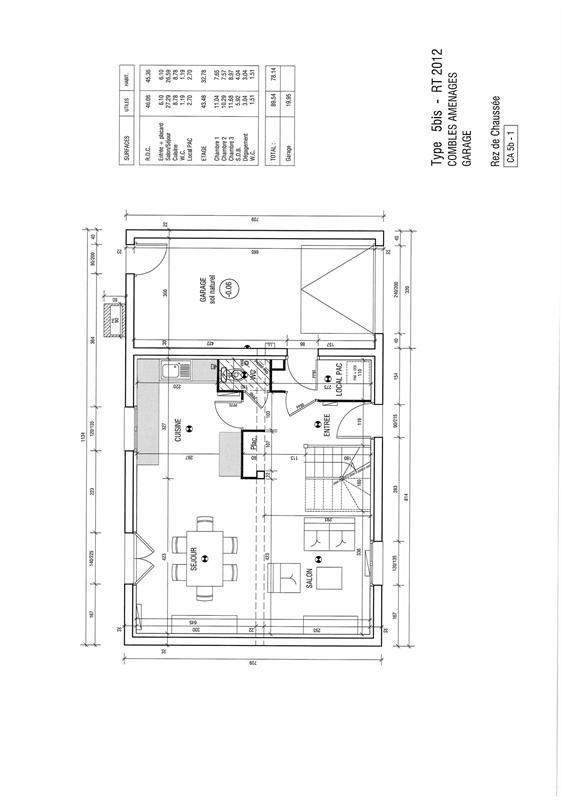 Maison partir de 5 pi ces terrain 375 m blain 44130 for Modele maison le masson