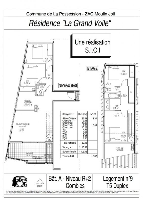 Vente appartement La possession 195000€ - Photo 3
