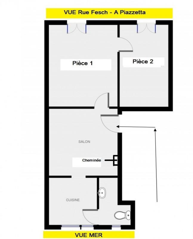 Sale apartment Ajaccio 130000€ - Picture 15