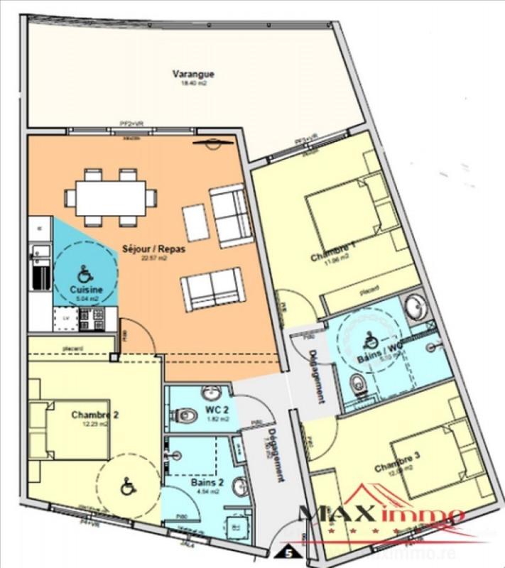 Vente appartement St denis 345000€ - Photo 1