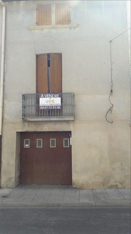 Vente maison / villa Marsillargues 78110€ - Photo 1