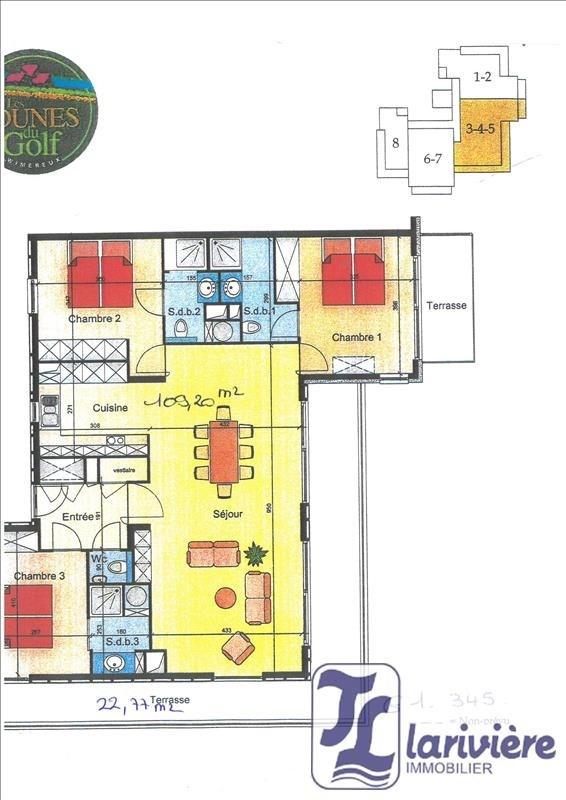 Vente appartement Wimereux 515000€ - Photo 4
