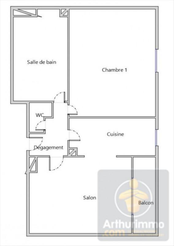 Vente appartement Rambouillet 185000€ - Photo 6