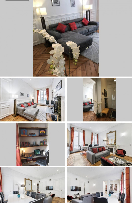 Rental apartment Paris 8ème 4300€ CC - Picture 2