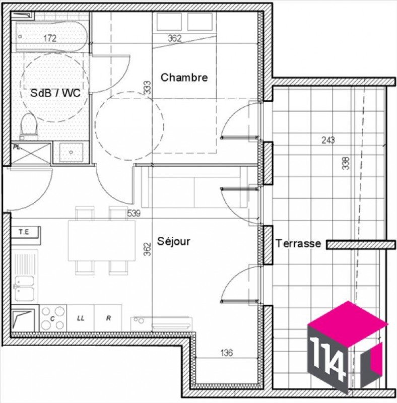 Vente appartement Saint-brès 154400€ - Photo 4