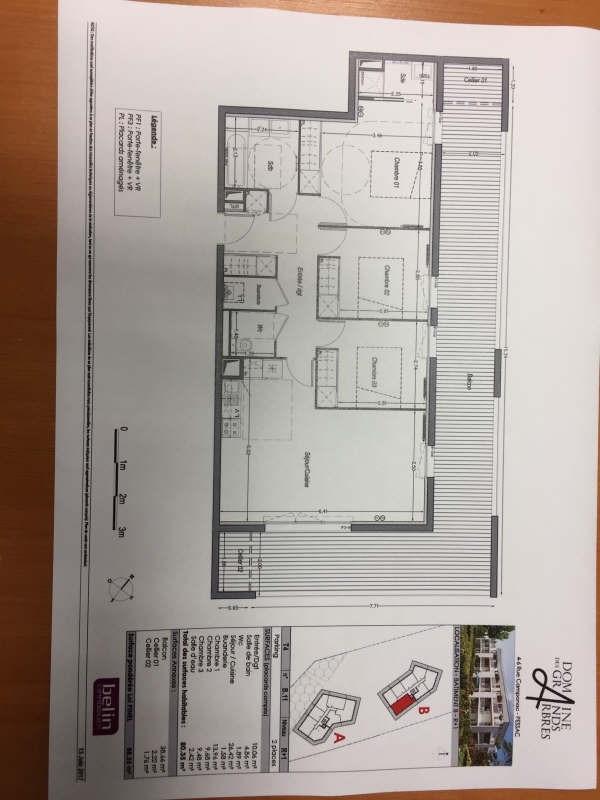 Vente appartement Pessac 350000€ - Photo 3