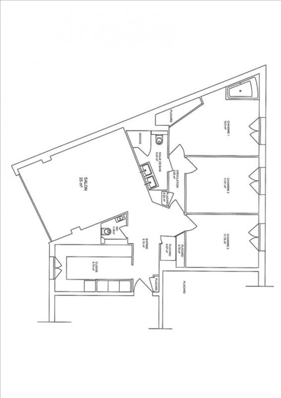 Deluxe sale apartment Boulogne billancourt 780000€ - Picture 8