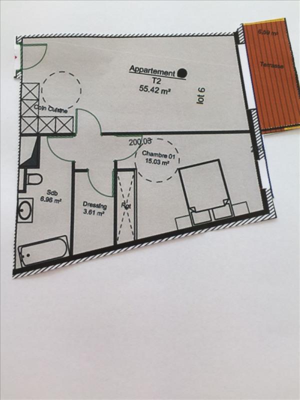 Venta  apartamento Charbonnieres les bains 299268€ - Fotografía 1