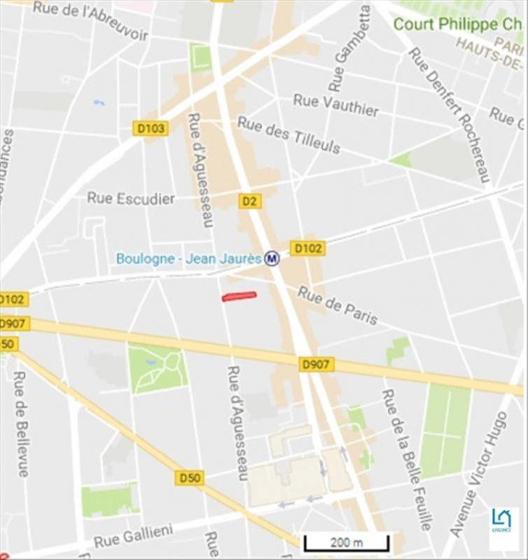 Location bureau Boulogne billancourt 9100€ HT/HC - Photo 4