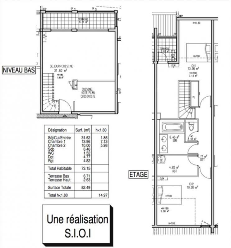 Sale apartment La possession 148000€ - Picture 5