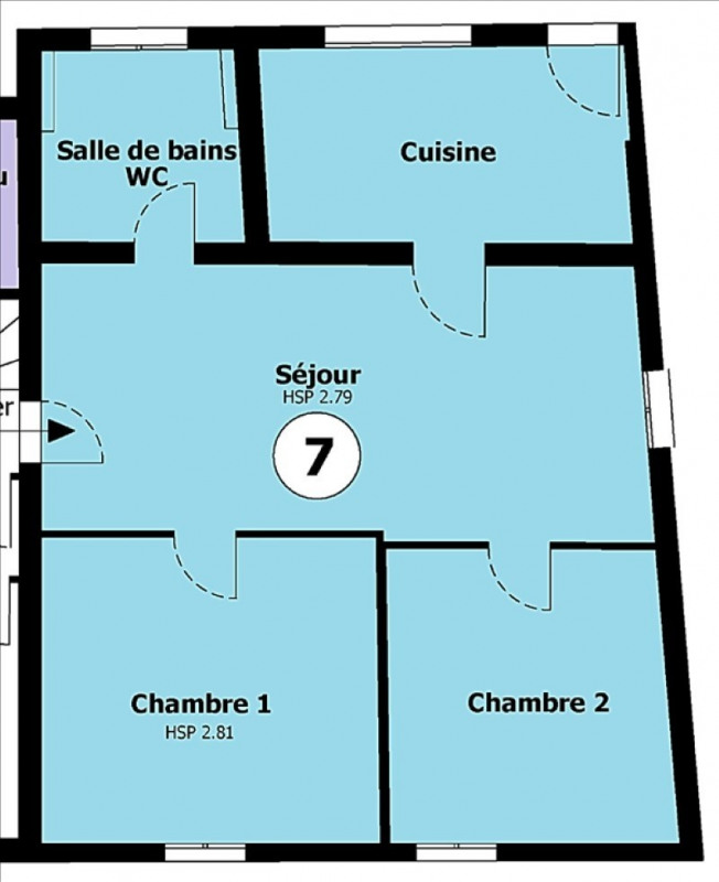 Sale apartment Neuilly plaisance 182500€ - Picture 7