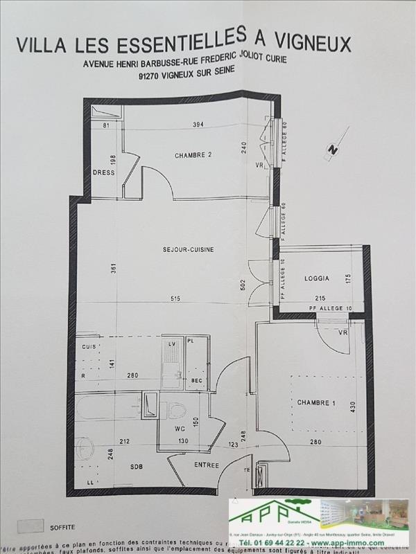 Vente appartement Vigneux sur seine 177000€ - Photo 6