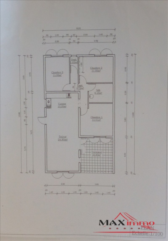 Vente maison / villa St benoit 238000€ - Photo 1