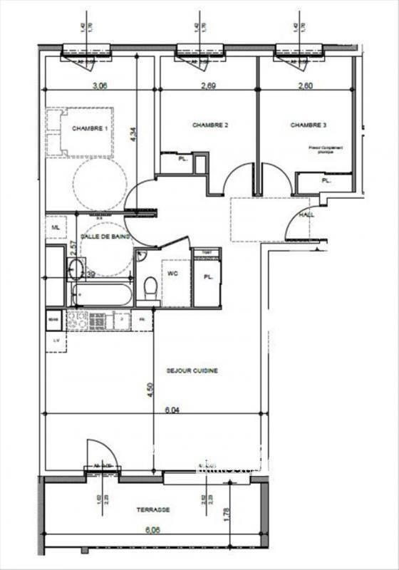 Vente appartement Contamine-sur-arve 302000€ - Photo 4