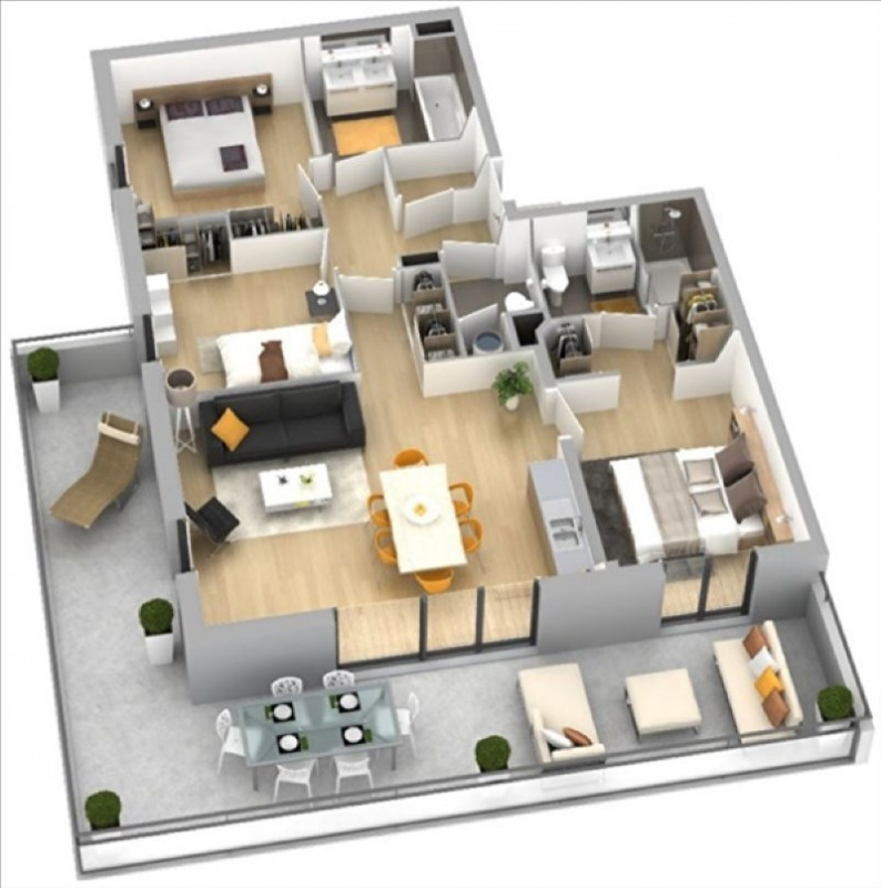 Vente appartement Ajaccio 349000€ - Photo 3