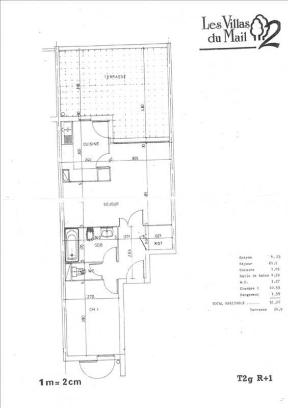 Vente appartement Voisins le bretonneux 215000€ - Photo 3