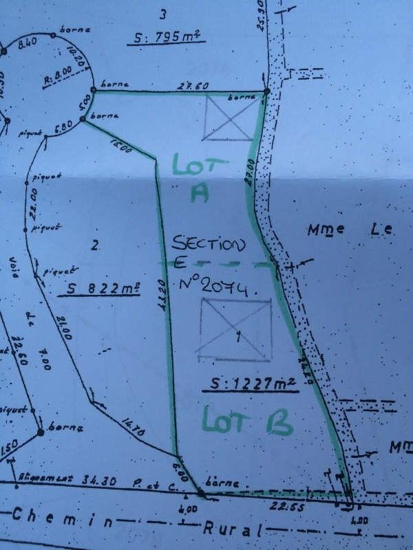 Vente terrain Pleumeur bodou 47700€ - Photo 2