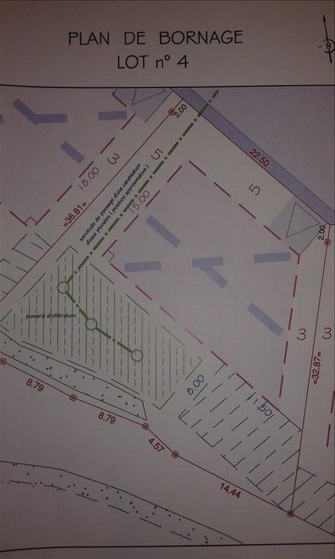 Vendita terreno Benodet 133500€ - Fotografia 3