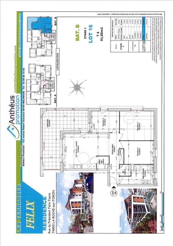 Vente appartement La roche-sur-foron 298000€ - Photo 2