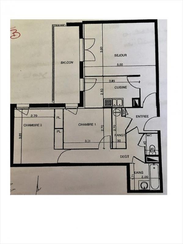 Sale apartment Villemur sur tarn 105000€ - Picture 1
