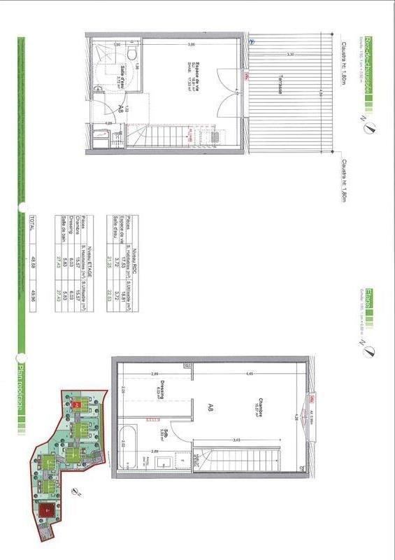 Sale apartment Gaillard 240000€ - Picture 2