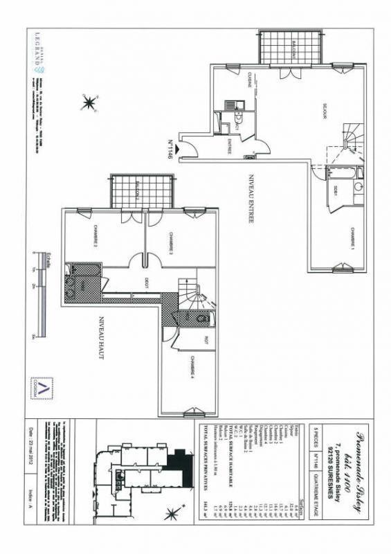 Rental apartment Suresnes 3008€ CC - Picture 4