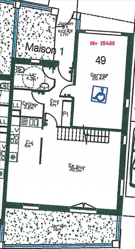 Sale house / villa Feucherolles 460000€ - Picture 2