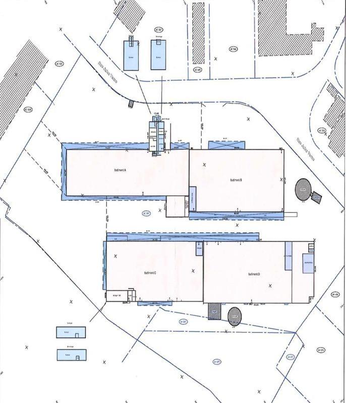 Location Local d'activités / Entrepôt La Riche 0