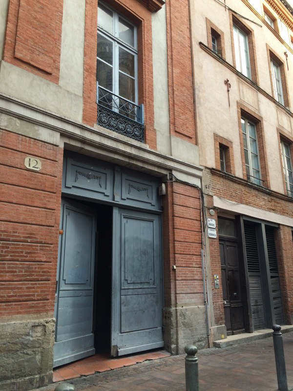 Rental apartment Toulouse 361€ CC - Picture 1