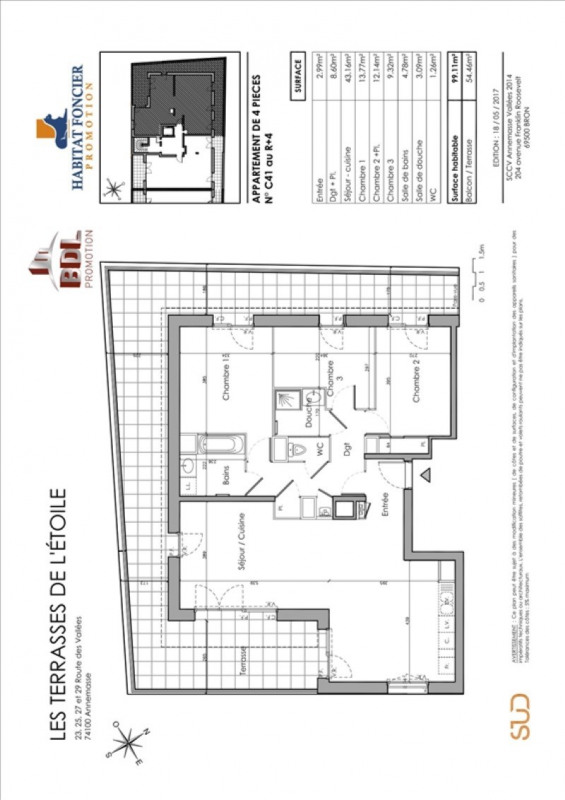 Vente appartement Annemasse 506 300€ - Photo 2