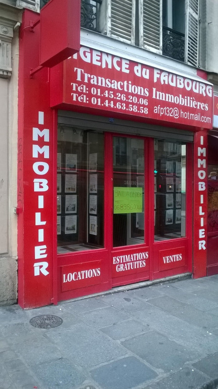 Boutique 20m² Paris 10ème