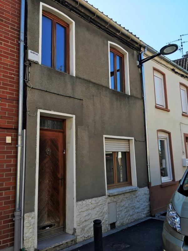 Vente maison / villa Carvin 91000€ - Photo 1